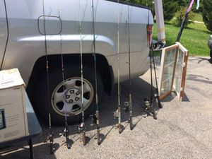Fishing pole and reel. for Sale in Varna, IL