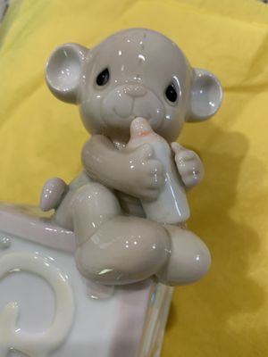 Precious moments Pink baby bank for Sale in Land O' Lakes, FL