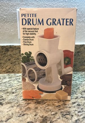 Drum Grater for Sale in Lithia, FL