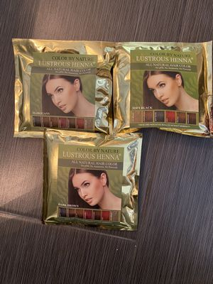 Henna Color by Nature for Sale in San Bernardino, CA
