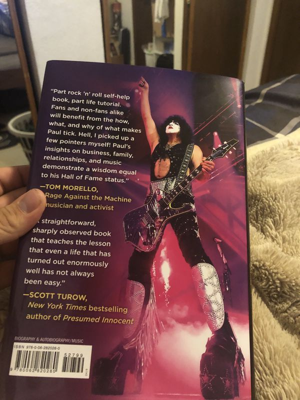 Paul Stanley backstage pass book