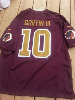 Redskins NFL Alternate Jersey XL Griffin for Sale in Germantown, MD