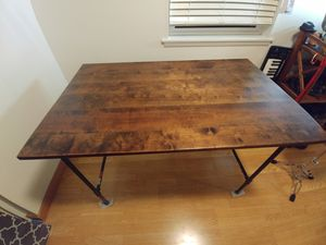 Homemade, rustic desk/table for Sale in Portland, OR