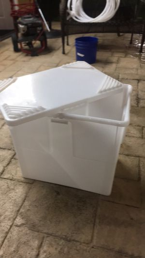 Heavy duty plastic storage containers for Sale in Houston, TX