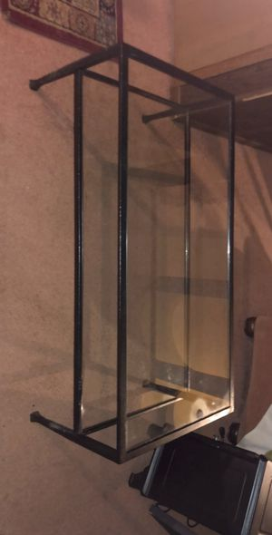 Metal and glass sofa table or TV stand for Sale in Strongsville, OH