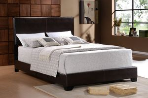 Full-size bed frame no mattress included for Sale in Phoenix, AZ