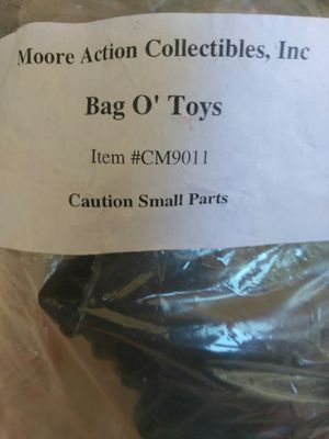 Bag of action figure collectible PURCHASED AT COMICCON for Sale in Spring Valley, CA