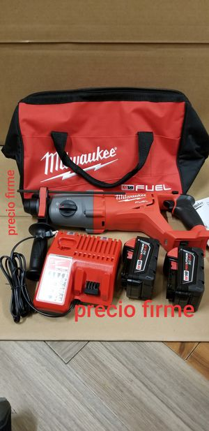 """Milwaukee 2713-22 M18 18V Cordless FUEL 1-1/8"""" SDS-Plus Rotary Hammer Kit for Sale in UPR MARLBORO, MD"""