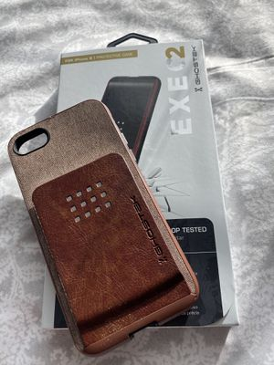 Ghostek Exec iPhone 6s/7/8/SE2020 case with card holder and magnetic vent mount! 8/10 condition for Sale in Tampa, FL