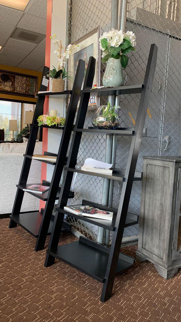 Ladder shelf's $179