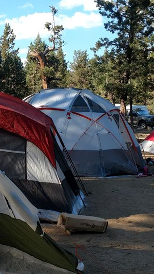 Ozark trail 12 person base camp tent with ligt for Sale in El Monte, CA