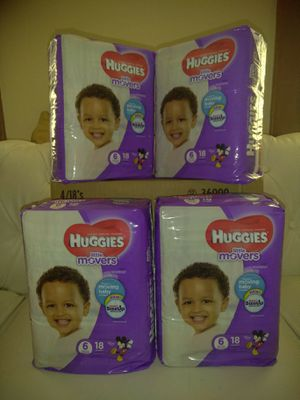 Huggies Little Movers size 6 for Sale in Columbus, OH