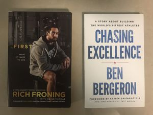 CrossFit books (Rich Froning And top coach Ben Bergeron) for Sale in Margate, FL