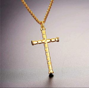 Men's necklace jewelry, Classic Cross Necklace Stainless Steel Dragon Pendant & Chain Christian Jewelry for Sale in Las Vegas, NV
