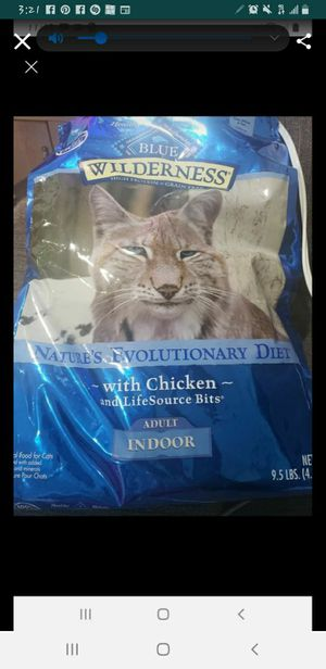 Blue Indoor Cat Food 9.5lbs for Sale in Las Vegas, NV