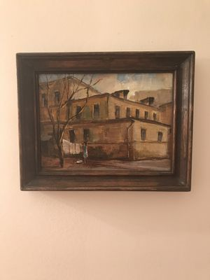 Oil paining. Russian. By A. Bustrov. 1990. for Sale in Palatine, IL