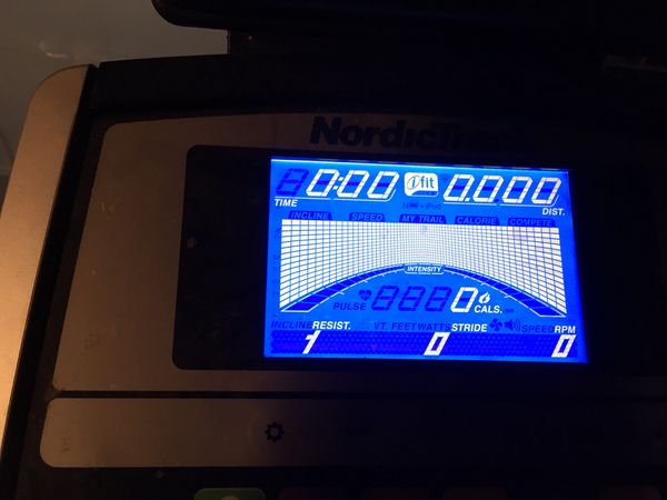 Used a couple times good quality NordicTrack elliptical with ifit and more programs