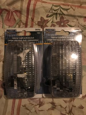 Interior dome lights for auto or even or camper or shed $7 both for Sale in Cleveland, OH