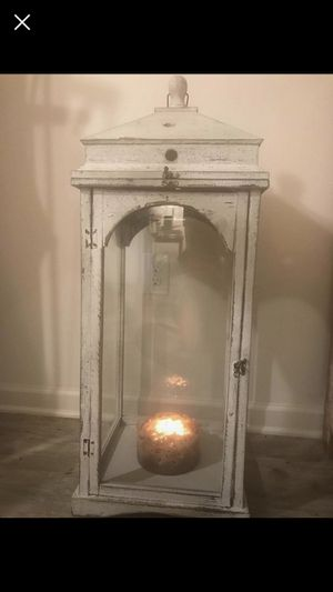 Tall antique glass decor for Sale in Knoxville, TN