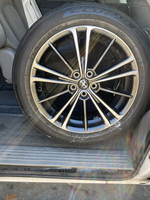 """18"""" Scion Rims New Tires & Black Lug Nuts for Sale in Citrus Heights, CA"""