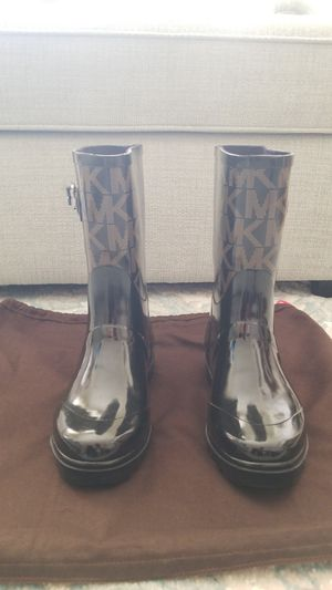 Michael Kors Monogram Rain Boots for Sale in Los Angeles, CA