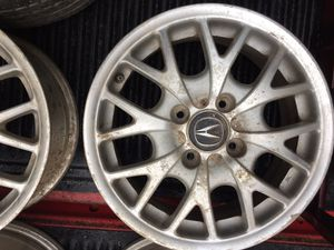 8 sport rims 4 lugs and 16 and 15 inches for Sale in Alexandria, VA