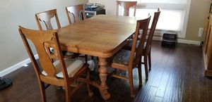 Antique dining table and 6 chairs for Sale in Fresno, CA