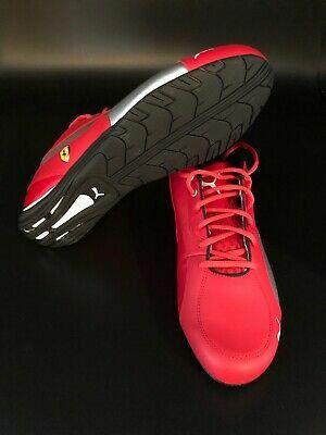 PUMA Men's Ferrari SF DRIFT CAT 5 NM Sneaker Red/Silver Size 9.5 for Sale in Fort Washington, MD