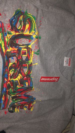 Supreme Paint Logo Tee Size Medium for Sale in Aloma, FL