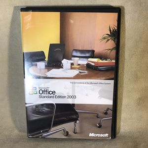 Microsoft Office Standard Edition 2003 for Sale in Seattle, WA