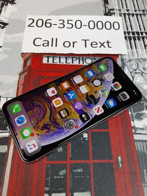 Unlocked iphone xs max for Sale in Shoreline, WA