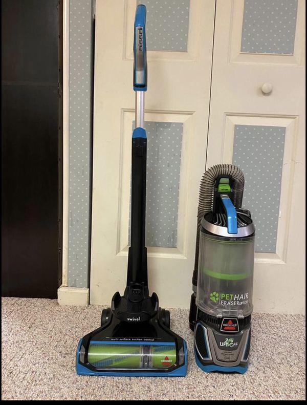 Bissell Pet Hair Eraser Lift Off Pet Swivel Vacuum