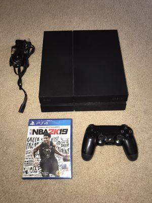 PlayStation 4 500GB Matte PS4 console - working for Sale in Sunnyvale, CA