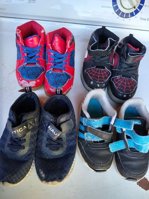 Free shoes for boy size 9 and 10 south la 90043 slauson ave /western for Sale in Windsor Hills, CA