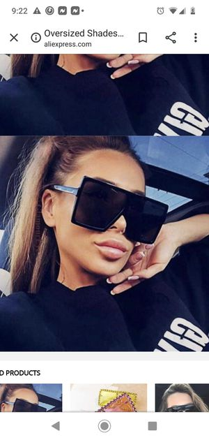 Brand New! Oversized Sunglasses! Very Popular & High Fashion! Hot! for Sale in Chevy Chase, MD