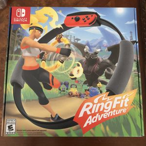 Ring Fit Adventure for the Nintendo Switch for Sale in Long Beach, CA