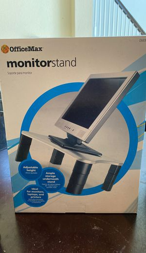 New monitor stand fir computer monitor for Sale in Bedford, TX
