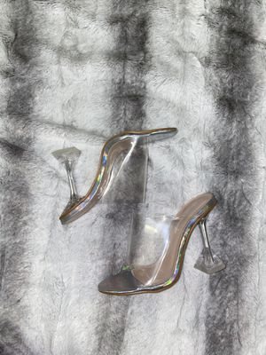 Clear slipper heels for Sale in Taunton, MA