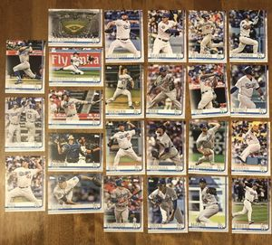 2019 Topps Complete (Series 1 & 2) Los Angeles Dodgers Team Set of 24 Cards for Sale in Los Angeles, CA