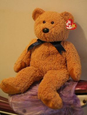 """Fuzz"""" the TY Beanie Baby BUDDY Teddy Bear- Never Played With for Sale in Hicksville, NY"""