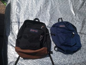 Jansport backpack $25 each for Sale in Downey, CA