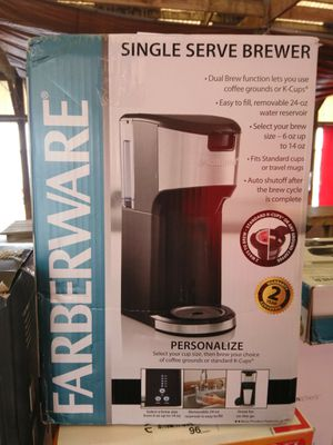 Farberware Single Serve 2n1 NIB for Sale in Kingsport, TN
