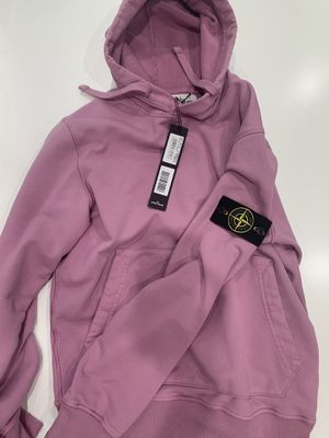 Stone island hoodie pink for Sale in San Francisco, CA