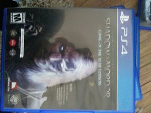 Shadow of Mordor Ps4 for Sale in Cobbtown, GA