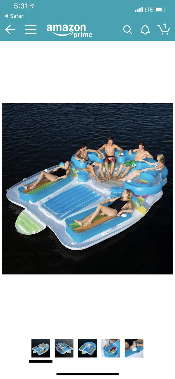 PRICE REDUCED - PRICE REDUCED - Like new Tahiti Island inflatable float