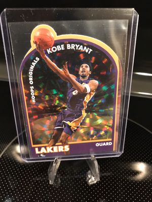 Fleer Kobe Bryant Basketball Card - Hologram Refractor Insert - Lakers Jersey 8 Black Mamba NBA Collectibles - MINT - $22 OBO for Sale in Carlsbad, CA