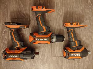 Ridgid power tools for Sale in Puyallup, WA