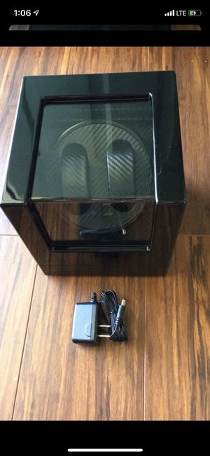 Brand New Mmsh Double Watch Winder for Automatic Watches Wood Watch Winder Box for Sale in Sunbury, OH