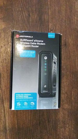 Motorola Wireless Cable Modem & Router for Sale in Salt Lake City, UT