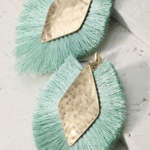 Diamond Shaped Tassel Earrings NWT for Sale in Pompano Beach, FL